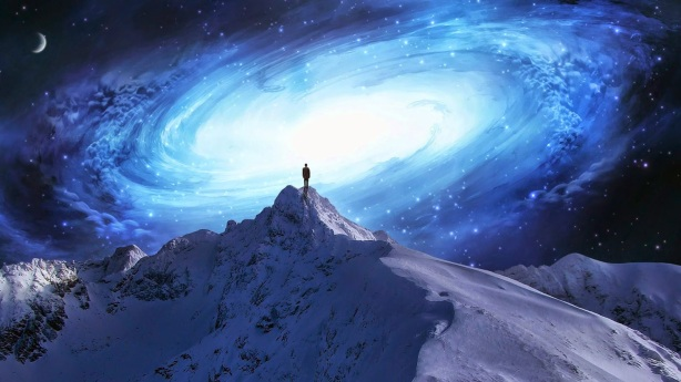 consciousness-human-awakening-mountain-top-galaxy